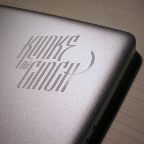 Klinke auf Chinch Branding
