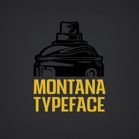 Montana Cans Schrift